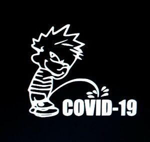 Boy calvin Peeing 19 Sticker Vinyl Decal Funny Jdm Car Truck Window Yetti