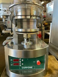 Cuppone Pizza Dough Forming Press Pzf 35ds b us 208 220v 3 ph Used