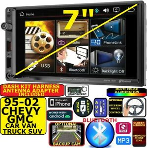 1995 2002 Gm Truck Suv Power Acoustik Bluetooth Usb Aux Car Stereo Radio