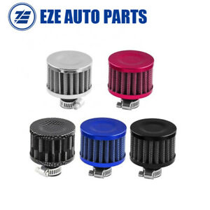 12mm Mini Cone Cold Car Racing Turbo Air Intake Crank Case Breather Air Filter