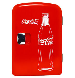 Coca Cola Mini Fridge Cooler Up To 6 Cans - BRAND NEW ⚡FAST SHIPPING⚡