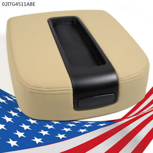 Front Center Console Armrest Lid Kit For Chevy Gmc Silverado Sierra beige New