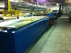 Silk Screen Printing Press American Long Stroke Electric Conveyor Dryer
