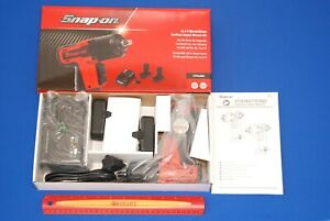 New Snap On 14 4 V 3 8 Drive Microlithium Cordless Impact Wrench Kit Ct761ak2