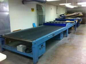 Silk Screen Printing Press And 60 Wide Uv Dryer For Screen Printing