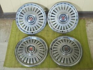 1965 Chevrolet Hub Caps 14 Set Of 4 Chevy Chevelle Wheel Covers 65 Hubcaps