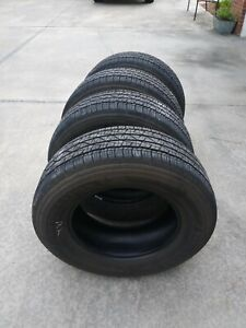 Truck Tires By Firestone Destination Le 2 265 65 r17 used 16500 Miles Set Of 4