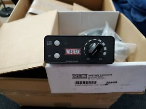 Western 28866 Variable Speed Controller With Full Harness