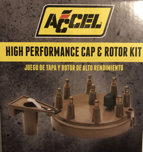 Accel High Performance Cap And Rotor Kit Part 8234 Ford 302