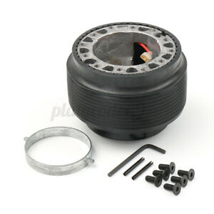 Universal Car Steering Wheel Hub Adapter Quick Release Kit For Vw Golf Mk2 Mk3