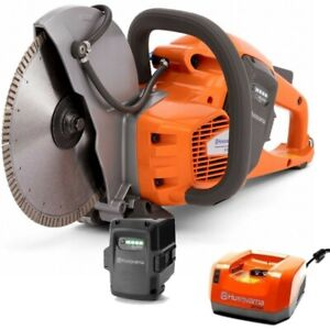 Husqvarna K 535i 9 Cordless Power Cutter Cutoff Saw Includes Battery Charger