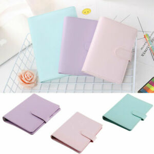 A6 a5 Macarons Loose Leaf Ring Binder Notebook Weekly Monthly Planner Diary