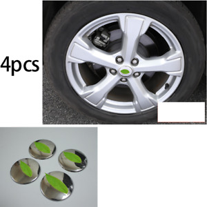 Steel Chrome Wheel Hub Caps Sticker Center Cover Fit For Ford Escape 2013 2019