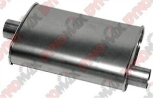 Dynomax 17715 Thrush Turbo Muffler 4 25 X 9 75 2 5 In Inlet Outlet Oval