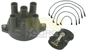 Md618364 Cap Md618262 Rotor Md972748 Wire Tune Up Kit Fit Mitsubishi 4g63 4g64