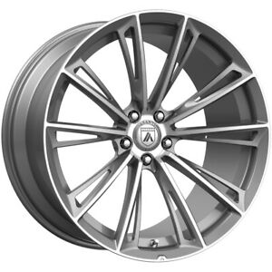 4 asanti Abl30 Corona 22x9 5x112 32mm Brushed Wheels Rims 22 Inch