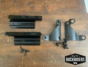 1998 2006 Jeep Wrangler Soft Top Roll Cage And Tailgate Soft Top Brackets Kit