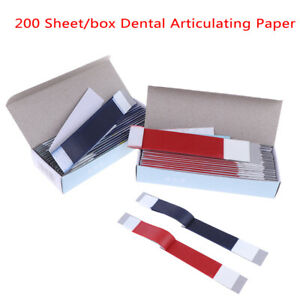 200sheets Dental Articulating Paper Strips Dental Lab Products Teeth Care Str_ng