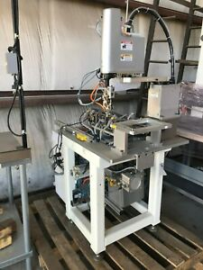 Yamaha Yk400x High speed Scara Robot With Stand And Plc Cabinet