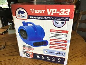 New 1 3 Hp Air Mover Blower Fan For Carpet Floor Drying Cooling B air Vp 33
