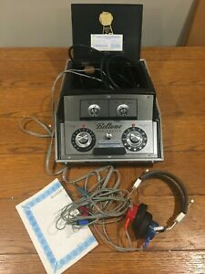 Beltone Audiometer Model 9d Hearing Tester W Headphones And Case
