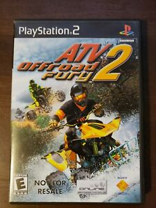 ATV Offroad Fury 2 (Sony PlayStation 2  2002) PS2 Not For Resale Complete Manual