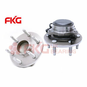 2 New Front Wheel Hub Bearing Assembly 6 Lugs For Chevy Sierra Gmc Silverado 2wd