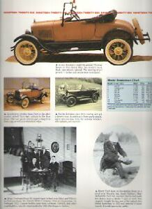1926 Ford Model T Article Must See Runabout Touring Car Fordor