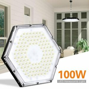100w Ufo Led High Low Bay Light Waterproof Factory Workshop Warehouse Gym Light