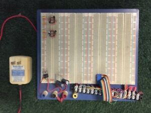 Electronic Prototyping Bread Board With Power Supply