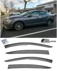 Eos For 13 19 Acura Ilx Jdm Mugen Style Side Vent Window Visors Rain Guards