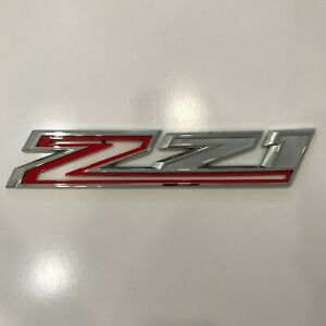 2019 2020 Chevrolet Silverado Left Driver Chrome Z71 Off Road Emblem 23400397