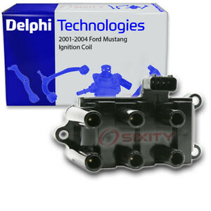 Delphi Ignition Coil For 2001 2004 Ford Mustang Spark Plug Electrical Rr