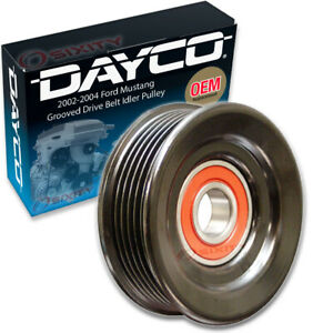 Dayco Grooved Pulley Drive Belt Idler Pulley For 2002 2004 Ford Mustang 4 6l Zm
