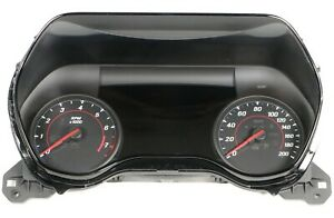 2017 Camaro Zl1 Ss 1le Instrument Gauge Cluster Enhanced Display 18k Miles Used