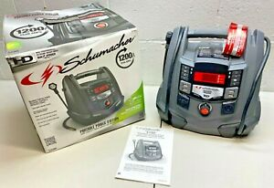 Schumacher Sj1289 1200 Amp Protable Power Jump Starter With Ac 12v Dc Usb Power