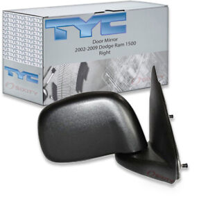 Tyc Right Door Mirror For 2002 2009 Dodge Ram 1500 Xo