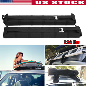 Universal Removable Soft Roof Rack Fishing Kayak Snow Board Surfboard Sup Ski
