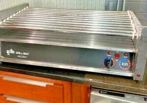 Star Grill Max 50 Hot Dog Roller Works Great