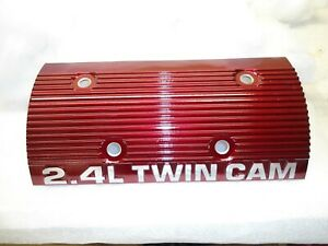 Chevy olds pontiac buick 1996 02 2 4ltwin Cam Powder Coated Valve Cover Maroon