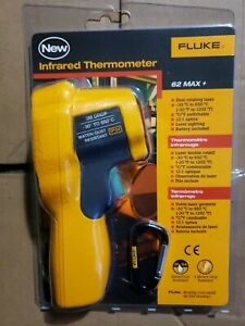 Brand New Fluke 62 Max Handheld Infrared Dual Laser Thermometer Free Shipping