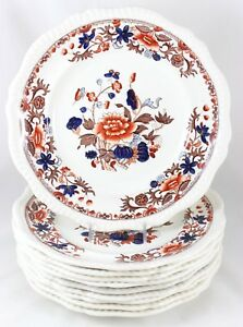 Fab Large Dinner Service Plate Copeland Spode China Bang Up 2 4074 Blue Gadroon