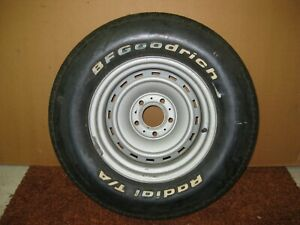 1971 1987 C10 Chevy Gmc Truck 15x8 15 X 8 5 Lug Rally Wheel W orig Bfg Tire