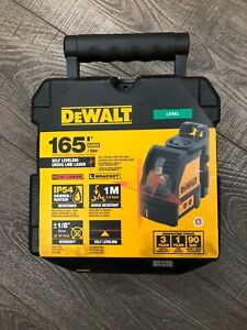 Dewalt Dw088k 165 Ft Red Self leveling Cross line Laser Level