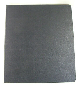 Joshua Meier Presentation Binder 16309 14 X 11 With 30 Sheet Protectors