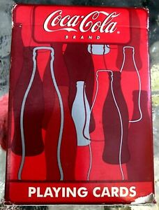 Coca Cola Playing Cards - Sealed New - Bicycle Brand - 1 Deck