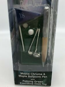 Pierre Cardin Executive Desk Toy Putting Green With Ballpoint Pen golf 02