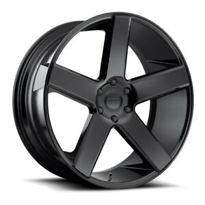Set Of 4 New Dub Wheels S216 Baller 28x10 5x139 7 25 Gloss Black