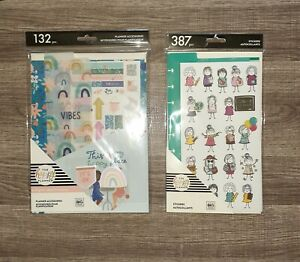 The Happy Planner Squad Goals Accessory Pack Teacher Stick Dashboard Stickers