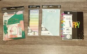Lot Of 8 The Happy Planner Companion Pack Happy Notes Fill Paper Dashboards